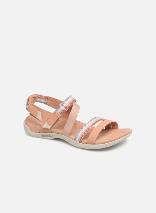 Sandales et nu-pieds Merrell District Mendi Backstrap Rose vue détail/paire