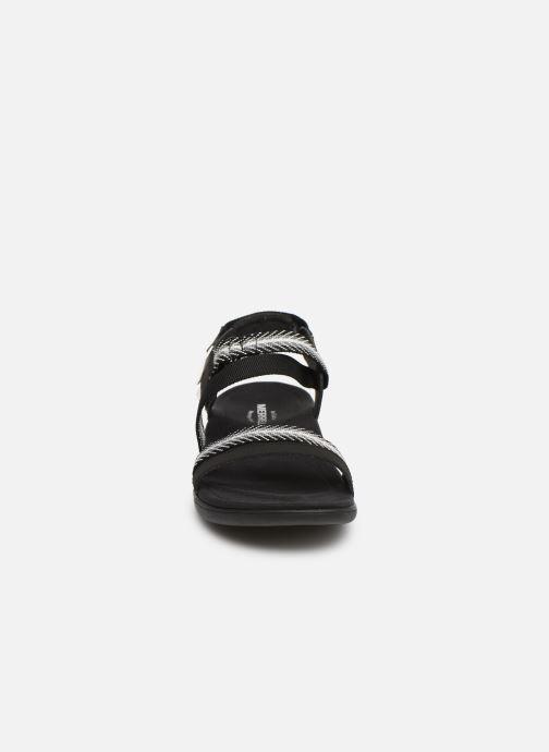 Sandales et nu-pieds Merrell District Mendi Backstrap Noir vue portées chaussures