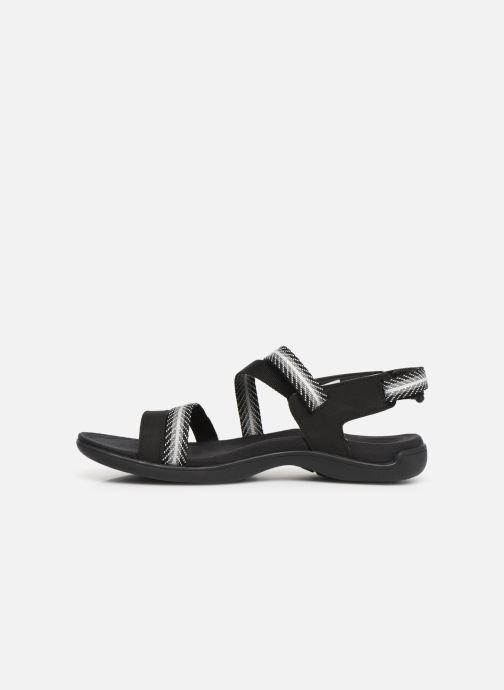 Sandales et nu-pieds Merrell District Mendi Backstrap Noir vue face