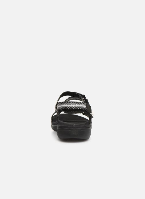 Sandales et nu-pieds Merrell District Mendi Backstrap Noir vue droite
