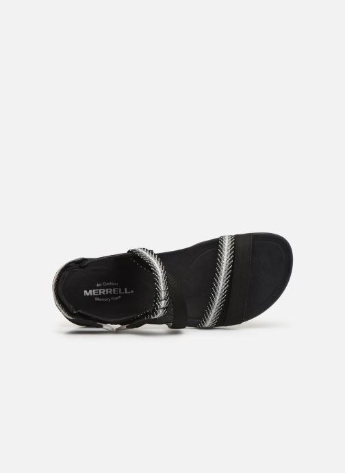 Sandales et nu-pieds Merrell District Mendi Backstrap Noir vue gauche