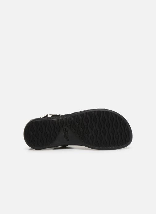Sandales et nu-pieds Merrell District Mendi Backstrap Noir vue haut