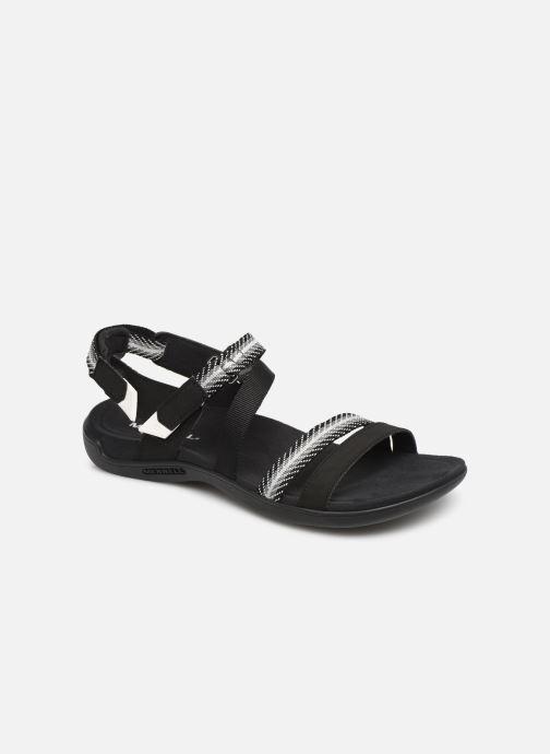 Sandales et nu-pieds Merrell District Mendi Backstrap Noir vue détail/paire