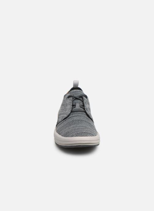 Baskets Merrell Gridway Bleu vue portées chaussures