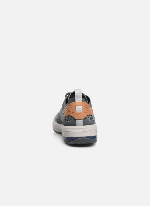 Trainers Merrell Gridway Blue view from the right