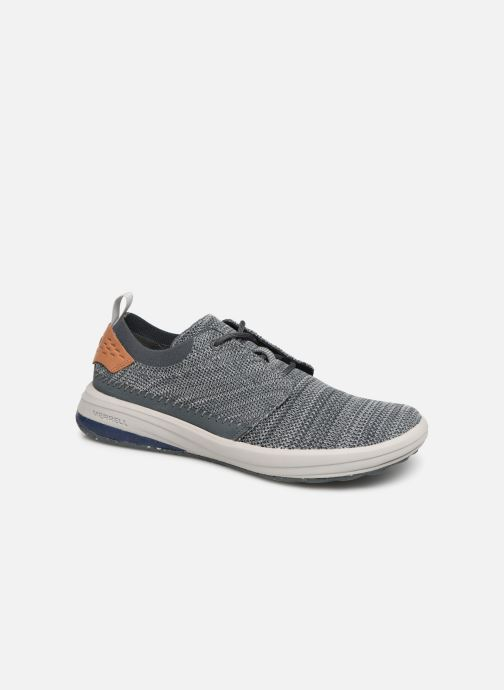 Trainers Merrell Gridway Blue detailed view/ Pair view