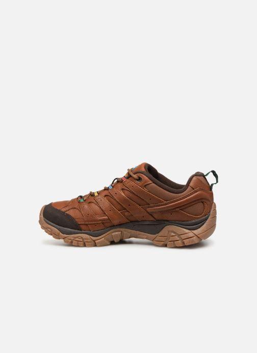 Chaussures de sport Merrell Moab 2 Earth Day Marron vue face
