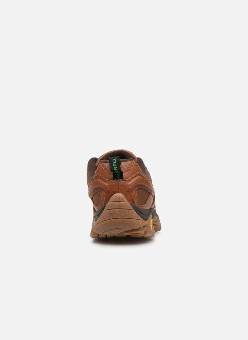 Chaussures de sport Merrell Moab 2 Earth Day Marron vue droite