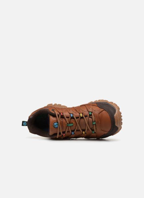 Chaussures de sport Merrell Moab 2 Earth Day Marron vue gauche