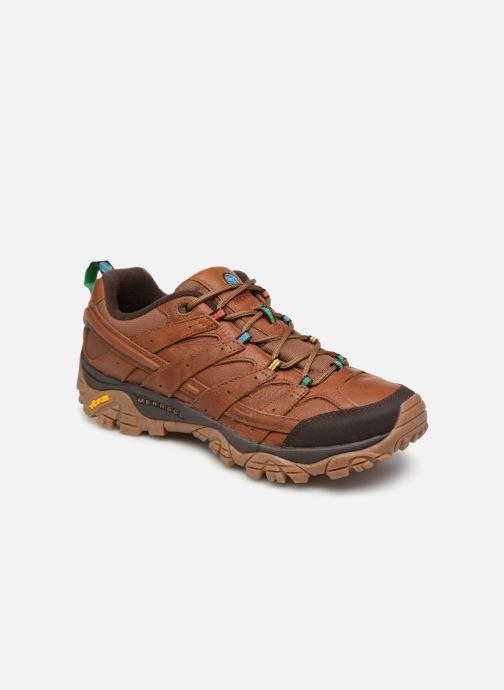 Chaussures de sport Merrell Moab 2 Earth Day Marron vue détail/paire