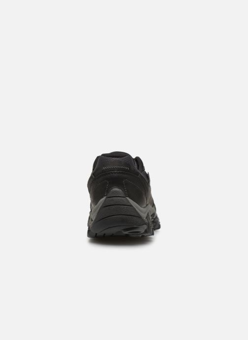 Sport shoes Merrell Moab Adventure Lace Wp Black view from the right