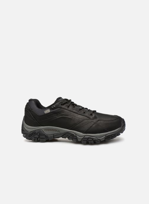 Sport shoes Merrell Moab Adventure Lace Wp Black back view
