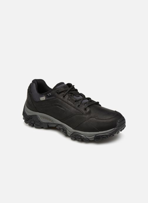 Sport shoes Merrell Moab Adventure Lace Wp Black detailed view/ Pair view