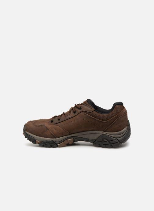 Chaussures de sport Merrell Moab Adventure Lace Wp Marron vue face