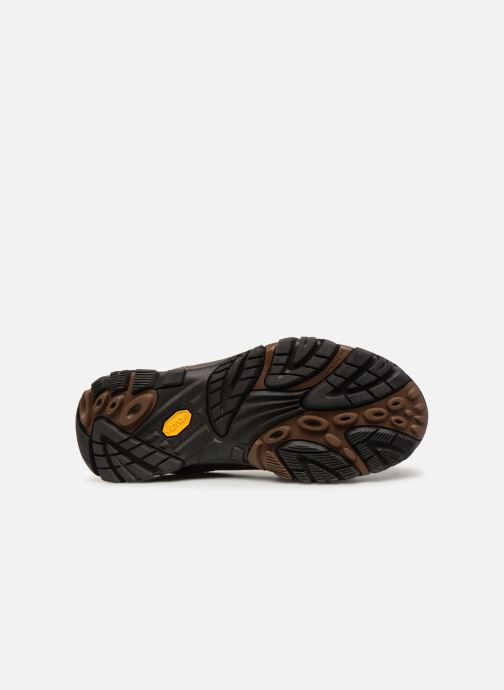 Chaussures de sport Merrell Moab Adventure Lace Wp Marron vue haut