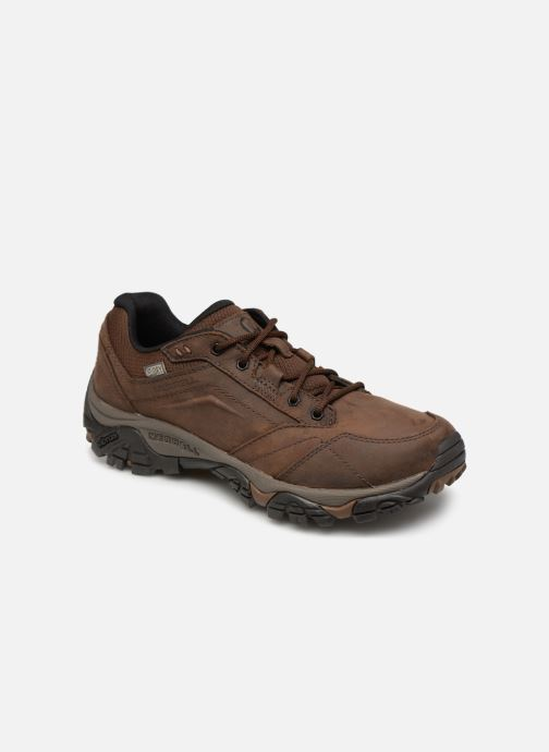 Sport shoes Merrell Moab Adventure Lace Wp Brown detailed view/ Pair view