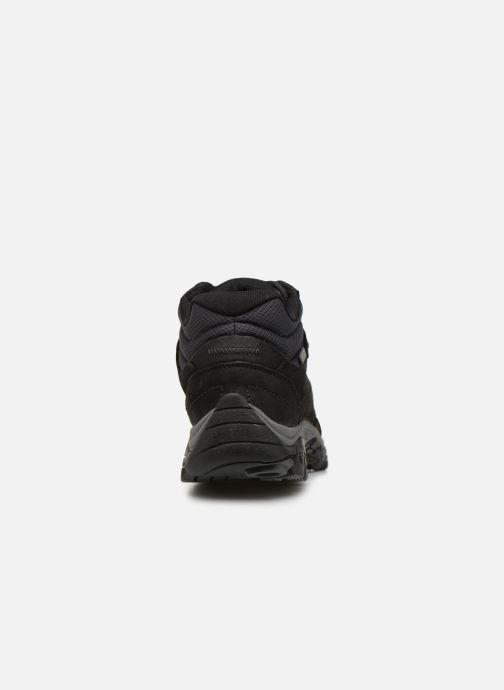 Chaussures de sport Merrell Moab Adventure Mid Wp Noir vue droite