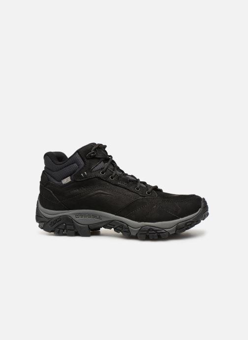 Chaussures de sport Merrell Moab Adventure Mid Wp Noir vue derrière