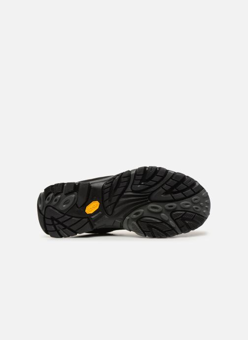 Chaussures de sport Merrell Moab Adventure Mid Wp Noir vue haut