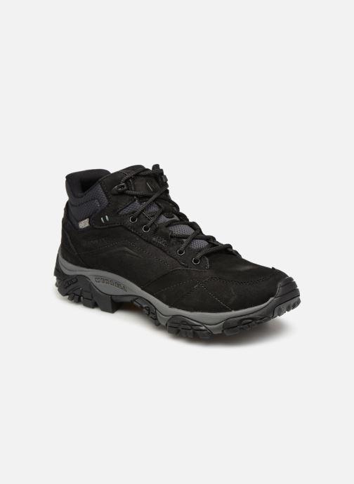 Chaussures de sport Merrell Moab Adventure Mid Wp Noir vue détail/paire