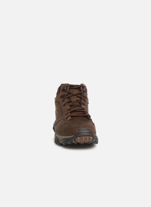 Chaussures de sport Merrell Moab Adventure Mid Wp Marron vue portées chaussures