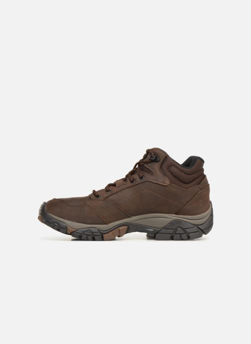 Sport shoes Merrell Moab Adventure Mid Wp Brown front view