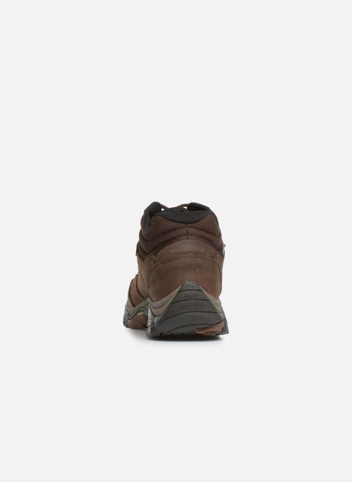 Chaussures de sport Merrell Moab Adventure Mid Wp Marron vue droite