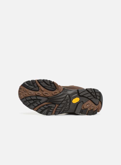 Chaussures de sport Merrell Moab Adventure Mid Wp Marron vue haut