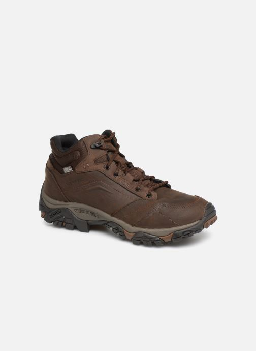 Sport shoes Merrell Moab Adventure Mid Wp Brown detailed view/ Pair view