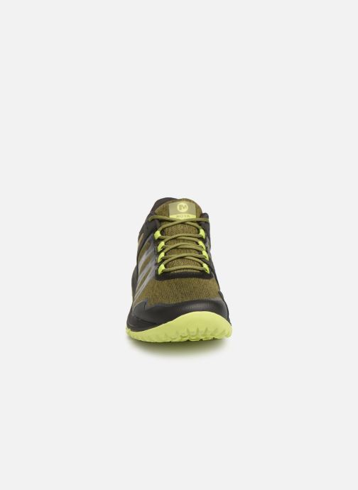 Chaussures de sport Merrell Nova Vert vue portées chaussures