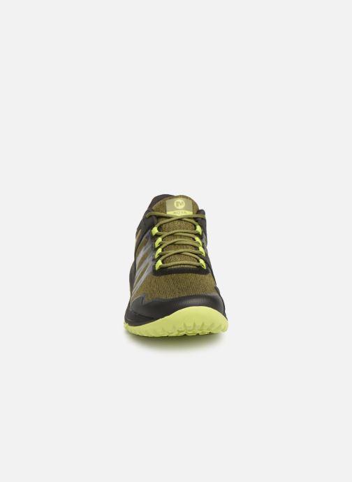 Zapatillas de deporte Merrell Nova Verde vista del modelo