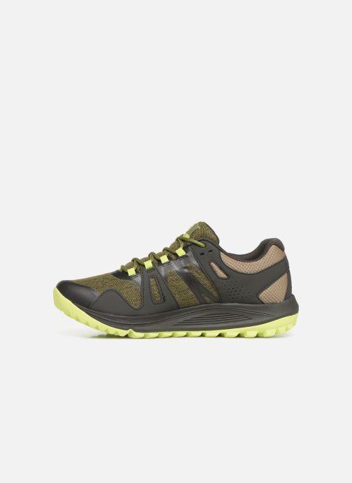 Zapatillas de deporte Merrell Nova Verde vista de frente