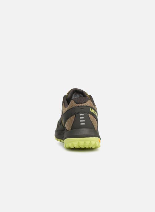 Chaussures de sport Merrell Nova Vert vue droite