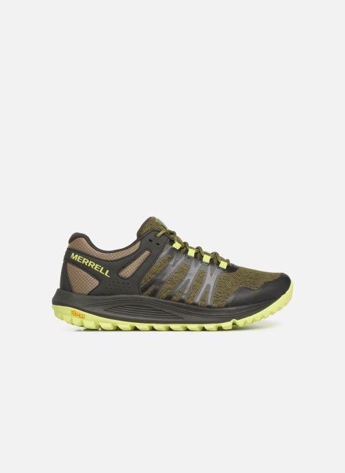 Chaussures de sport Merrell Nova Vert vue derrière