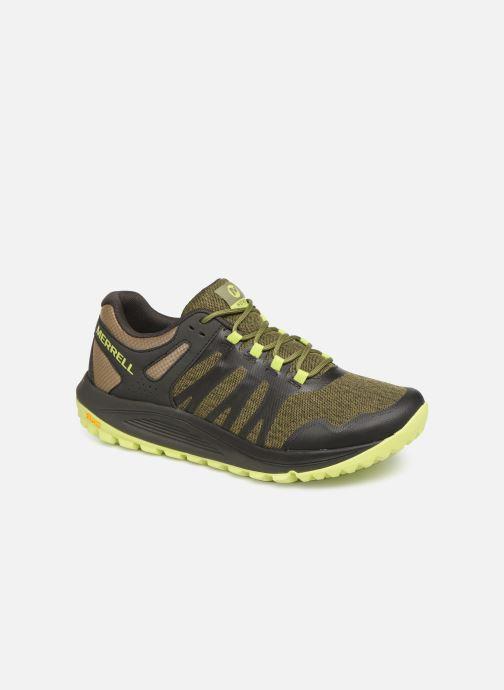 Chaussures de sport Merrell Nova Vert vue détail/paire