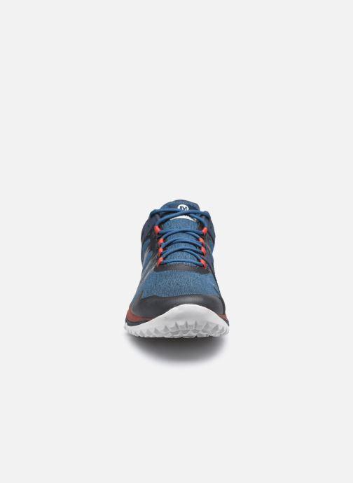 Chaussures de sport Merrell Nova Bleu vue portées chaussures