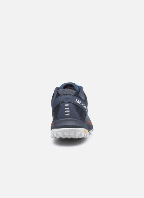 Chaussures de sport Merrell Nova Bleu vue droite