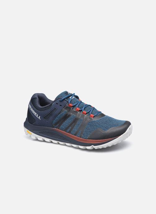 Chaussures de sport Merrell Nova Bleu vue détail/paire