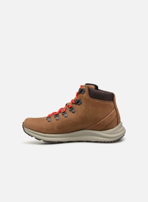 Sport shoes Merrell Ontario Mid Wp Brown front view