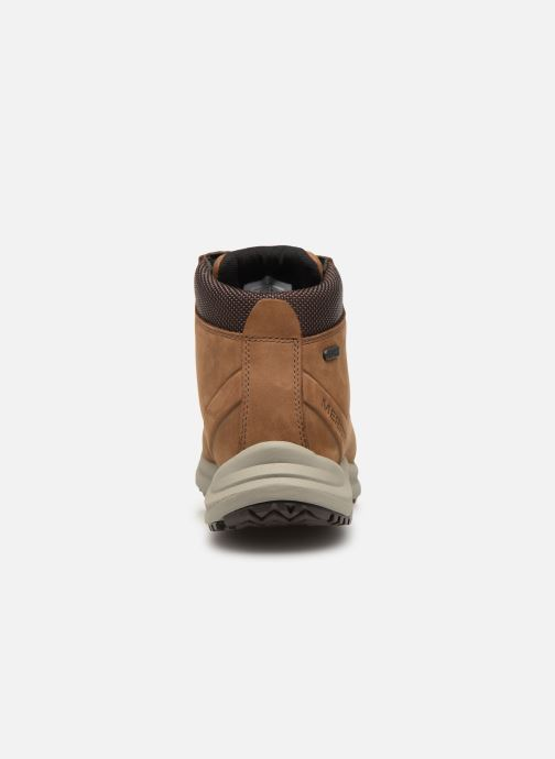 Chaussures de sport Merrell Ontario Mid Wp Marron vue droite