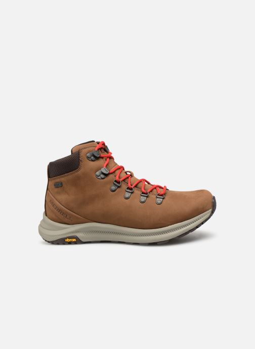 Sport shoes Merrell Ontario Mid Wp Brown back view
