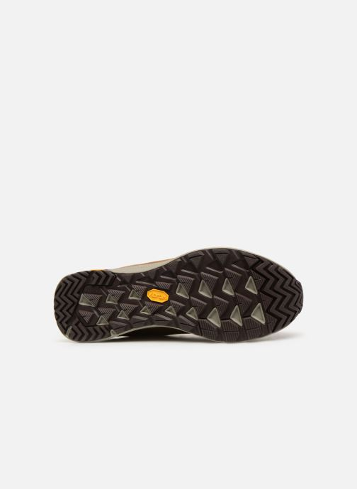 Sport shoes Merrell Ontario Mid Wp Brown view from above
