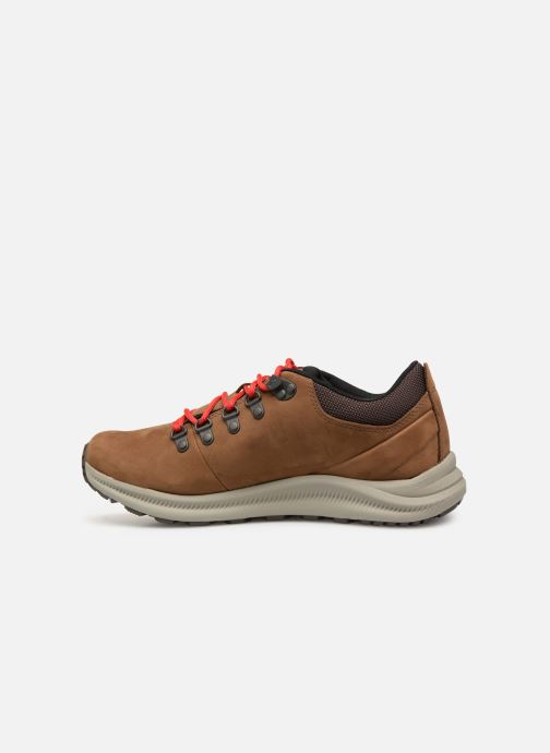 Sport shoes Merrell Ontario Wp Brown front view