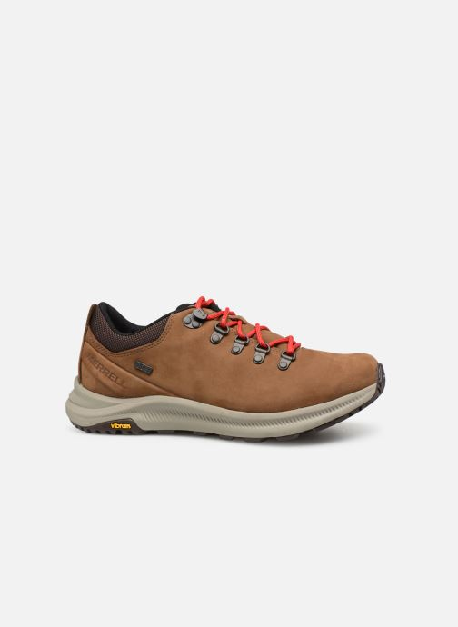 Sport shoes Merrell Ontario Wp Brown back view