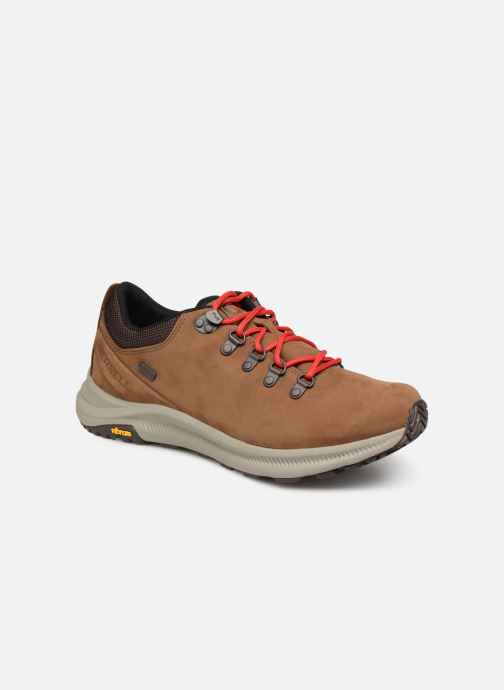Sport shoes Merrell Ontario Wp Brown detailed view/ Pair view