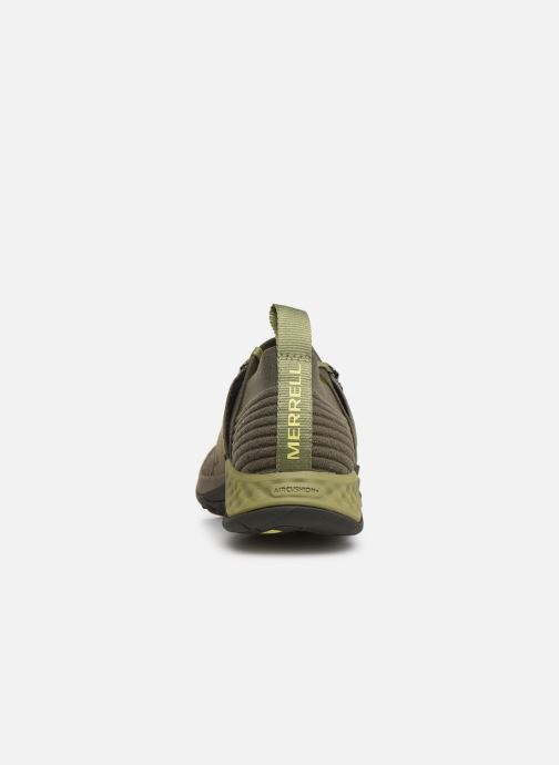 Chaussures de sport Merrell Range Ac+ Vert vue droite