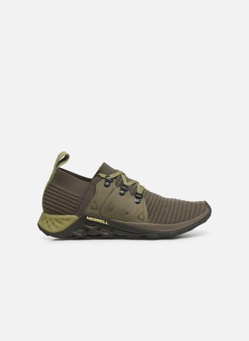 Chaussures de sport Merrell Range Ac+ Vert vue derrière