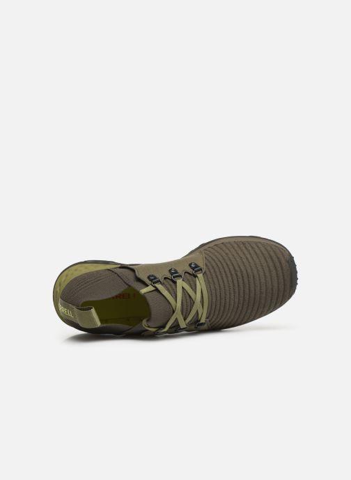 Chaussures de sport Merrell Range Ac+ Vert vue gauche