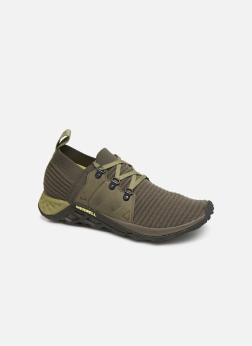 Chaussures de sport Merrell Range Ac+ Vert vue détail/paire