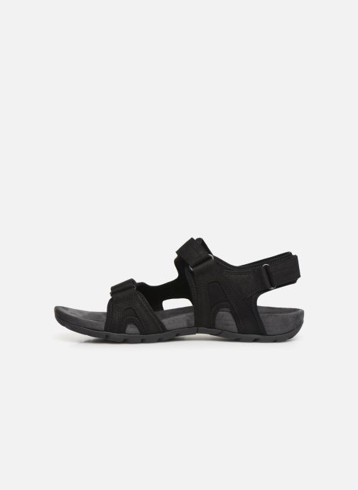 Sandales et nu-pieds Merrell Sandspur Lee Backstrap Noir vue face